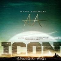 Icon Allu Arjun Movie Poster