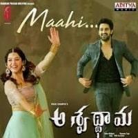 Maahi song poster